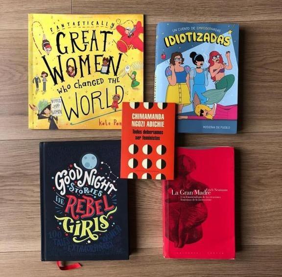 6 libros en el Día de la Mujer  