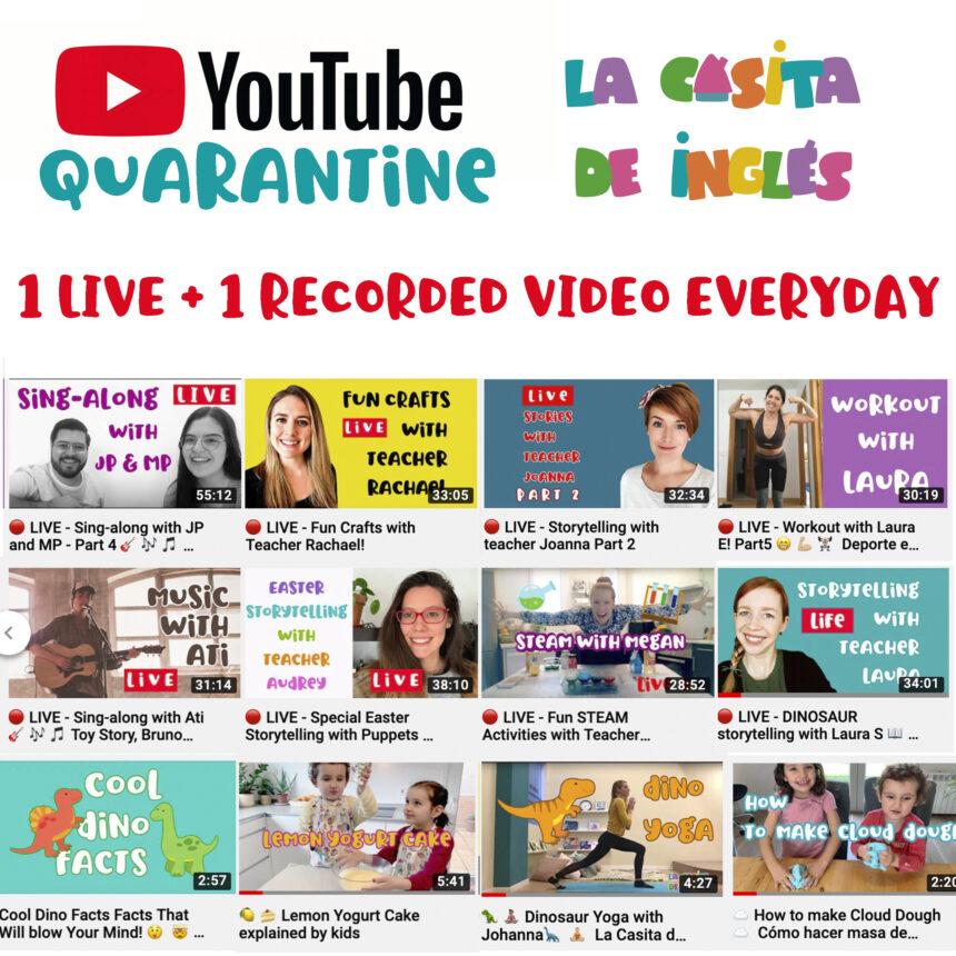 Vídeos en inglés divertidos gratuitos para niños: videos y directos  diariamente en YouTube