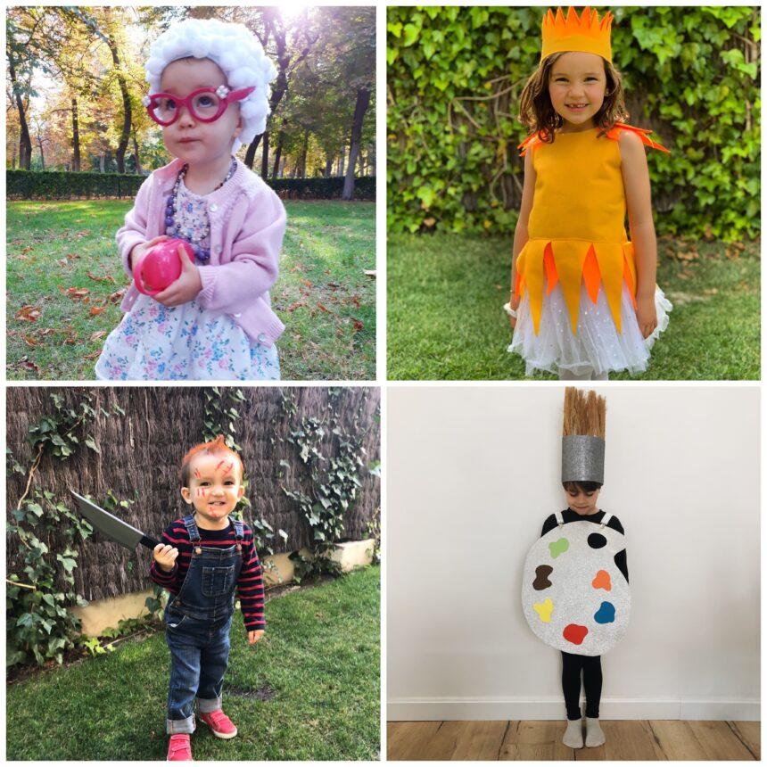5 disfraces sencillos de carnaval para niños
