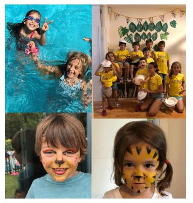 Campamento de verano para niños en Pozuelo de Alarcón