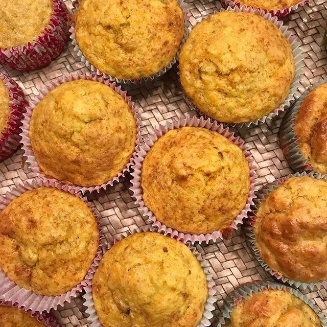Receta de muffins saludables para niños