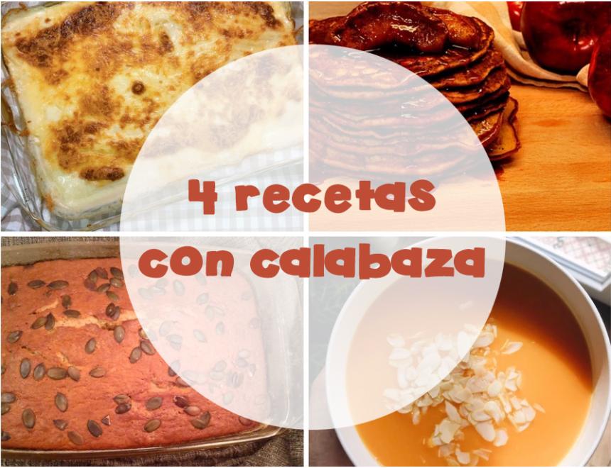 Recetas con calabaza: Bizcocho, crema, canelones y tortitas