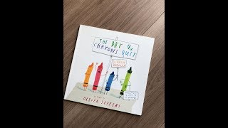 Cuentacuentos en inglés – Storytelling of «The day the crayons quit»
